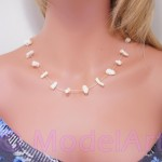 White corals necklace