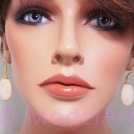 River stone - universe collection earrings