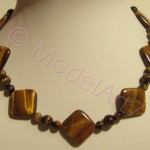 Tigers eye - necklace
